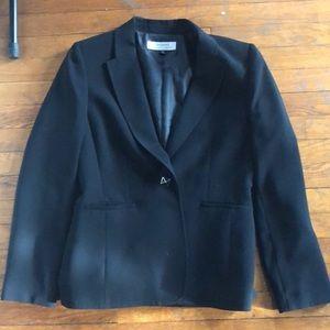 Tahari Arthur S. Levine black blazer jacket size 8